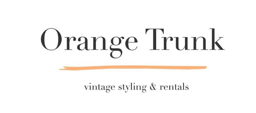ORANGE TRUNK VINTAGE STYLING & RENTALS