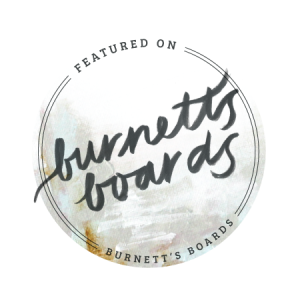 feature badge for Burnett's Boards